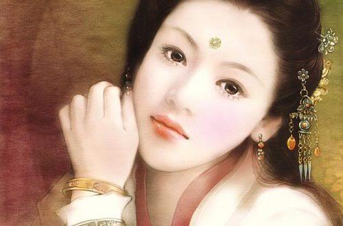 Trương Lệ Hoa qua nét vẽ của họa sỹ Trung Quốc.
