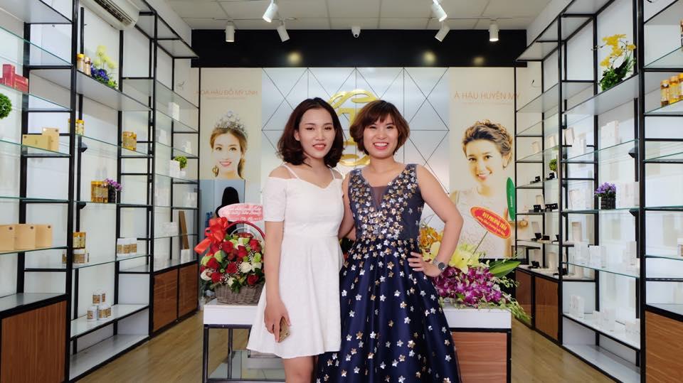 Đinh Thị Dung - chủ showroom Trâm Beauty Nghệ An xuất sắc giành vị trí thứ 1