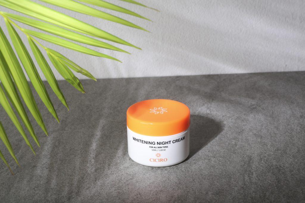 Kem dưỡng da CICIRO ban đêm sẽ giúp cải thiện và phục hồi làn da!