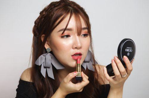 Hot girl, người mẫu ảnh Nguyễn Thúy Nga và cây son CICIRO S24!