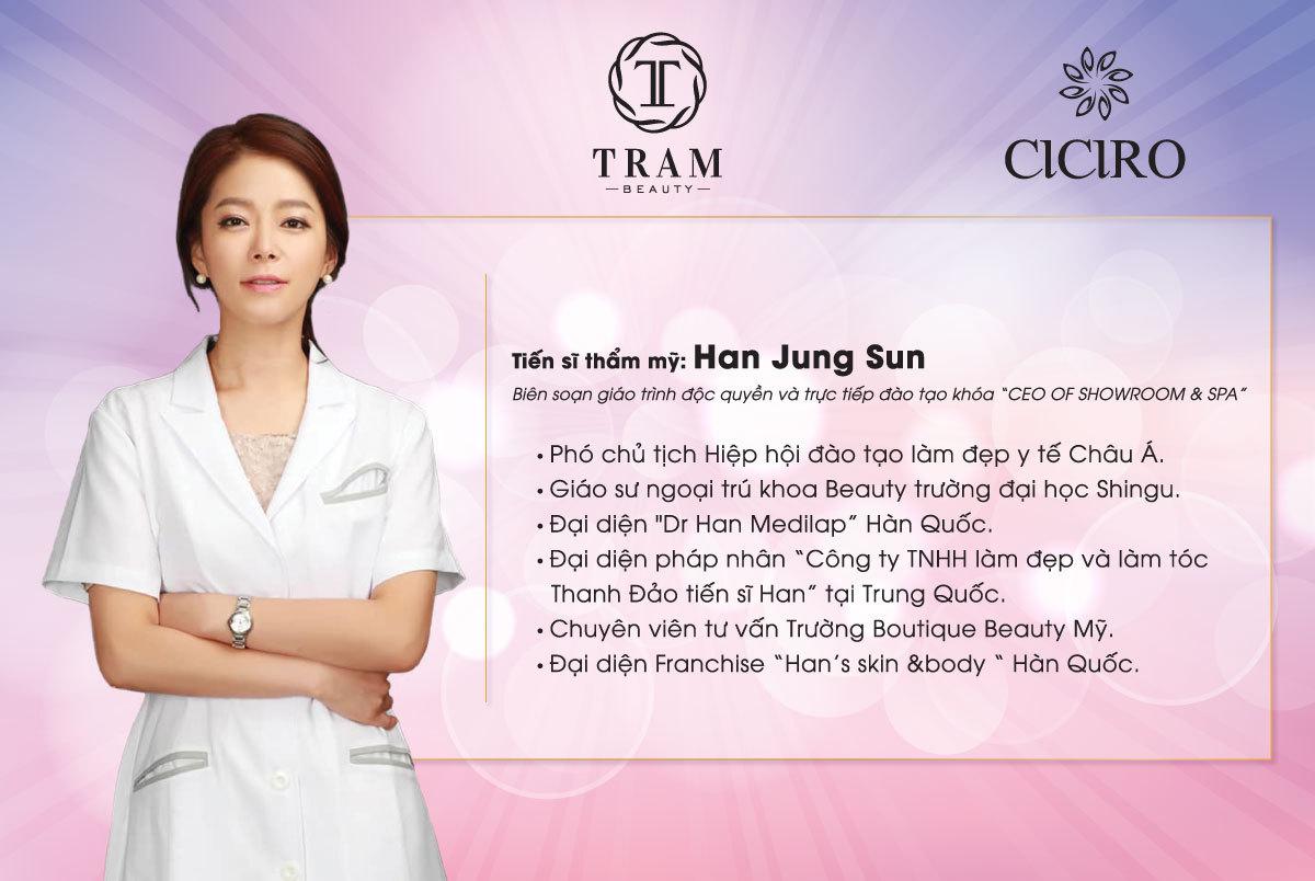 giang vien Han Jung Sun