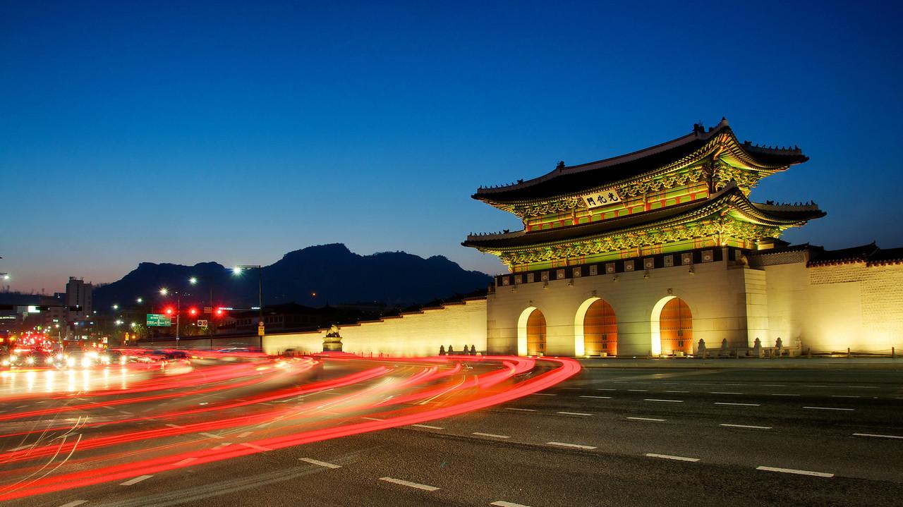 Gwanghwamun - Trái tim Seoul
