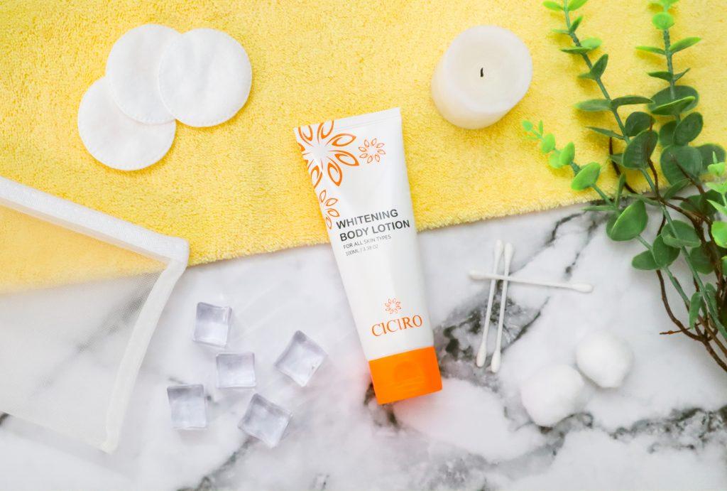 Kem dưỡng da toàn thân CICIRO Whitening Body Lotion có chiết xuất cây cam thảo