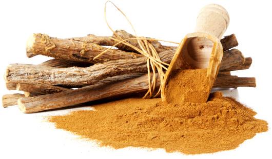 Bột cam thảo được sử dụng làm thành phần cho các loại mỹ phẩm làm đẹp da
